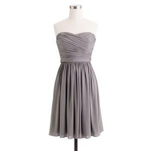 J. Crew Dresses - J.Crew Arabelle Bridesmaid Dress (Gray)
